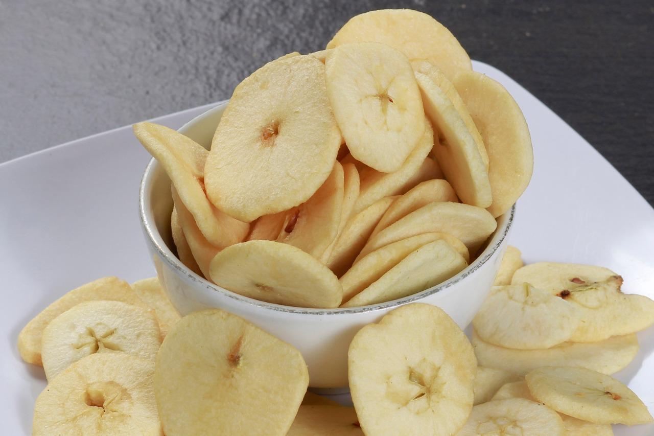 Manfaat Buah Apel Manalagi Malang - Keripik Apel
